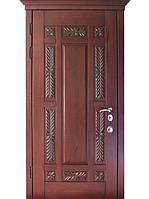 Элитные уличные входные двери (массив ясеня) модель Флоренция