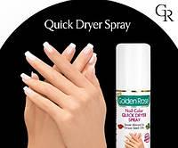 Сушка-спрей для лака «Golden Rose» Nail Color Quick Dryer Spray