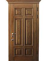 Элитные входные двери для коттеджа (массив ясеня) модель Потёмкин