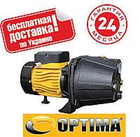 Насос центробежный Optima JET100A 1,1кВт чугун короткий пластиковое колесо