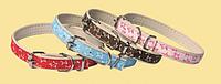 Поводок Дрим Пет  1,2м/10мм для собак, рисунок - звездочки, розовый