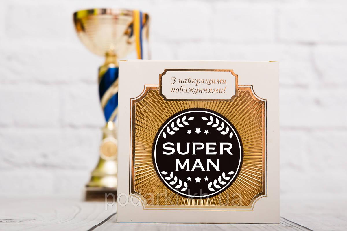 Шоколадна медаль Super man