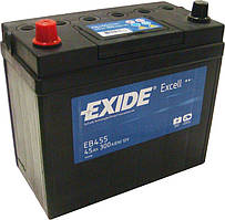 Аккумулятор EXIDE EXCELL 45Ah-12v (234x127x220) левый +