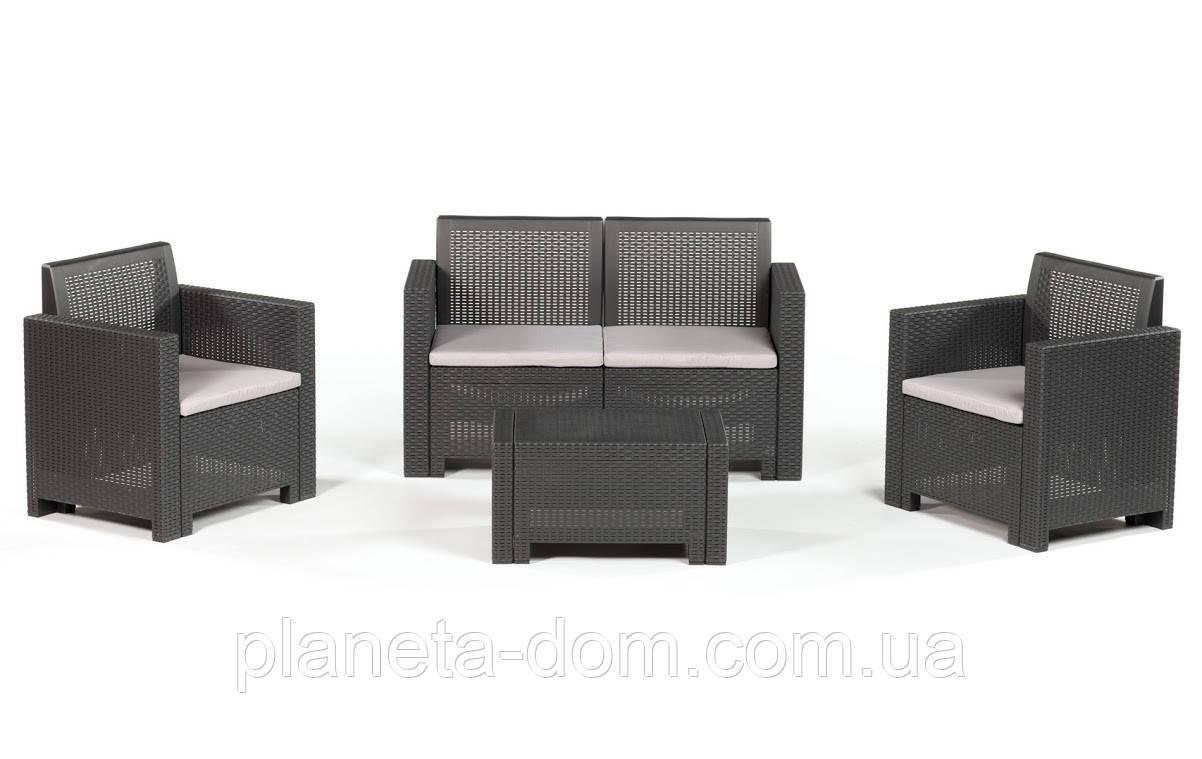 Комплект мебели из искусственного ротанга Set Alabama 2