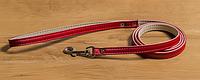 Поводок Дрим Пет  1,2м/10мм для собак,  красный