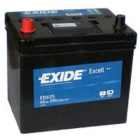 Аккумулятор EXIDE EXCELL 60Ah-12v (230x172x220) левый +
