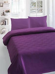 Покрывало пике Eponj Home Kare Fistik Murdum фиолетовый 220*230