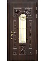 Двери входные бронированные элит мдф+ковка модель Русь