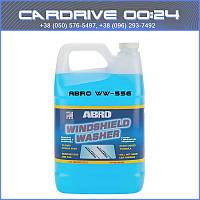 Жидкость стеклоомывателя летняя 3,8л ABRO WW-556