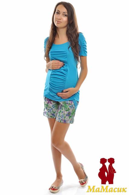 Майки, футболки и летние туники для будущих мам