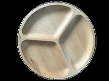 Тарелка под шашлык круглая