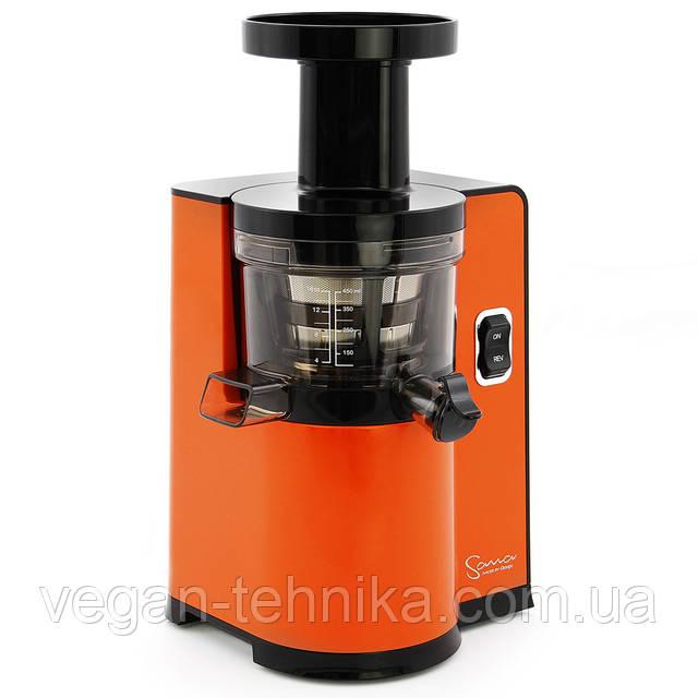 Шнековая соковыжималка Sana Juicer by Omega EUJ-808 Orange