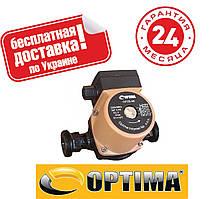 Насос циркуляционный Optima OP15-60 130мм + гайки, + кабель с вилкой