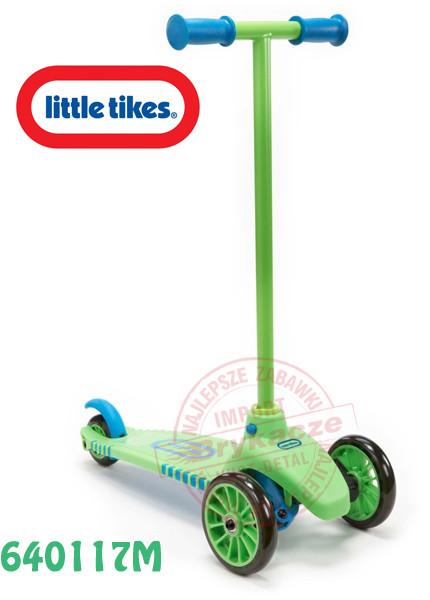 Скутер трехколесный с поворотными колесами Little Tikes 640117