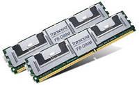 Оперативна пам'ять Transcend  4GB  Kit(2x2GB)  533MHz  DDR2  ECC for Dell