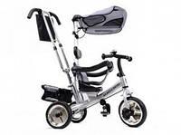 Велосипед детский трехколёсный, серый, XG18919-T12-1