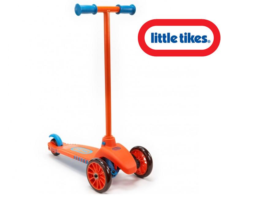 Самокат с поворотными колесами Little Tikes 640124