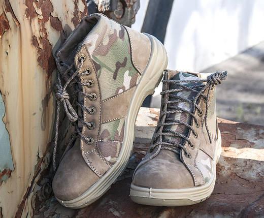 """Ботинки тактические камуфлированные """"Гайдамак"""" в мультикаме (S1-700 multicam) , фото 2"""