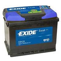 Аккумулятор EXIDE EXCELL 62Ah-12v (242x175x190) правый +