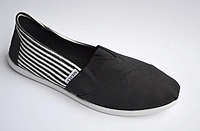 Слипоны Canoa Black