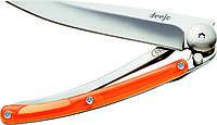 Нож складной DEEJO COLORS 27g, ORANGE