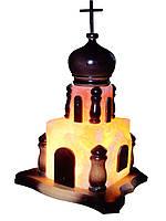 """Соляной светильник """"Церковь"""", вес 5 кг"""