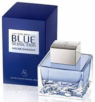 Мужская оригинальная туалетная вода Antonio Banderas Seduction Blue ( фруктовый, древесный), 100 мл NNR ORGAP