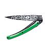 Нож складной DEEJO TATTOO BLACK 37g, PEACE