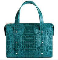 Оригинальная женская сумка из натуральной кожи. Коллекция «Рептилия»