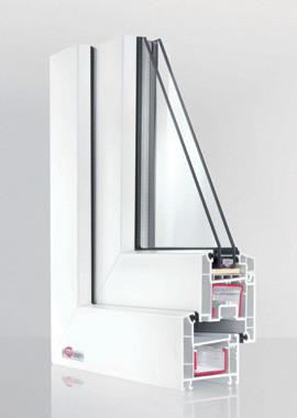 Пластиковые окна из профильной системы REHAU Euro-60