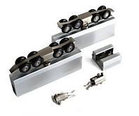 Комплект роликов для душевой кабины под раздвижную систему со стеклом (ДО 120 КГ) KIN-LONG