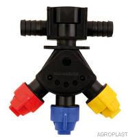 Головка маятникова наскрізна AP0-100/GW07/P, ціна з ПДВ