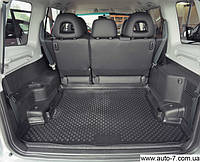 "Ковер багажника Chery A13 2008-> (Bonus/ZAZ Forza) (резино/пластик) ""AUTOFORMA"" черн."