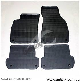 """Ковры в салон Audi A-4 (B6/В7) 2000-2008 """"DOMA"""" серые (4шт/комп)"""