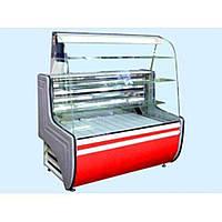 Холодильная витрина Айстермо ВХК ОРБИТА 1.8 (+1...+10°С, 1800х800х1400 мм, прямое стекло)