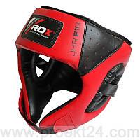 Боксерский шлем детский RDX Red 6-10лет