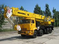 Аренда автокрана КС-6478 50,5 тонн в Днепропетровске, фото 1