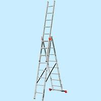 Универсальная лестница KRAUSE Tribilo 3х8 (5.2 м)