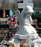 Ангелочек из мрамора С - 45