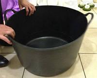 Черная корзина 14л, фото 1