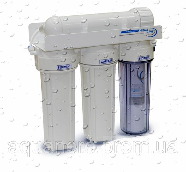 Фильтр для воды с ультрафильтрационной мембраной Aqualine UF-4
