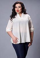 Белая элегантная блуза