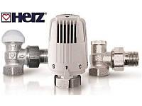 Термостатический комплект HERZ Classic TS-90 угловой