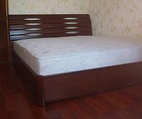 Кровать из массива бука с матрацем 2000*1600 и бельевым ящиком