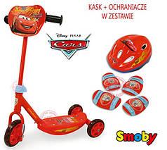 Самокат Smoby Cars 450171