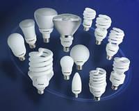 Лампы люминесцентные, компактные, энергосберегающие