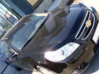 """Дефлектор капота Chevrolet Epica 2005 и выше """"SIM"""" темный"""