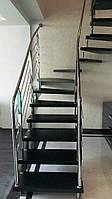 Лестницы и перила из нержавейки