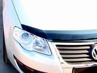 "Дефлектор капота Volkswagen Passat B-6 2005-2010 ""SIM"" темный"