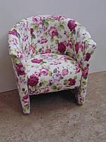 """Кресло для кафе,дома и офиса """"Клео-гламур"""". Мягкая мебель от производителя."""